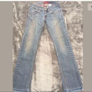Levi 504 Dark Wash Jeans 28/32